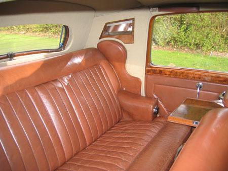 wedding cars surrey r type bentley interior