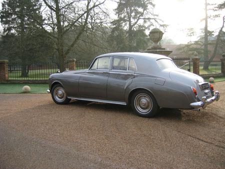 wedding cars surrey S3 Bentley Silver Cloud