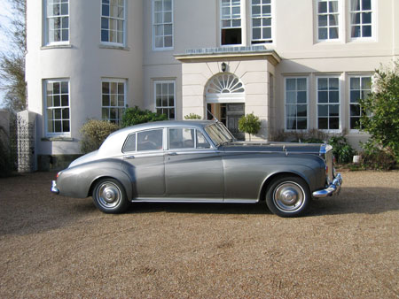 wedding cars S3 Bentley Silver Cloud right side