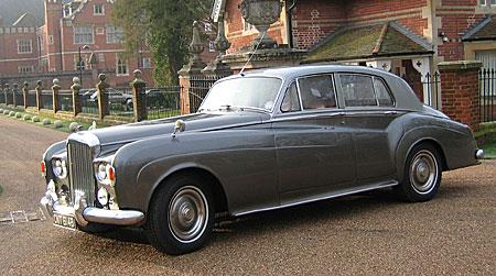 wedding cars surrey bentley s3