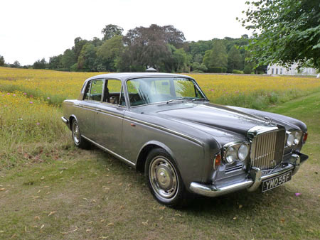 wedding cars T1 Silver Shadow Bentley right side