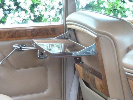 wedding T1 Bentley interior tray