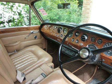 wedding T1 Bentley interior front