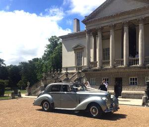 Wedding cars surrey bentley r type right view