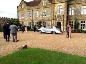 Wedding cars surrey bentley r type left view