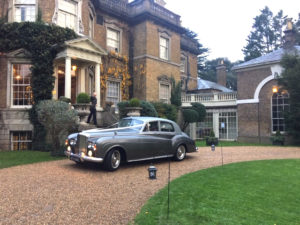 Wedding cars surrey bentley s3 left view 2