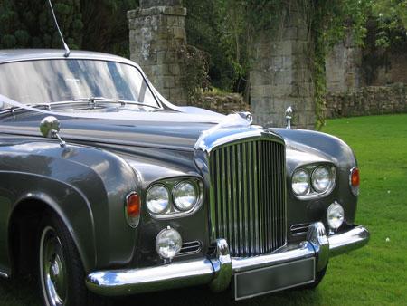 london wedding cars S3 Bentley Silver Cloud front