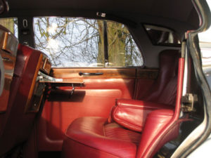 Wedding cars surrey bentley s3 interior view 3