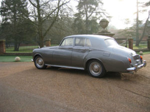 Wedding cars surrey bentley s3 left side 2