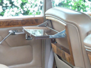 Wedding cars surrey bentley t1 interior view 2