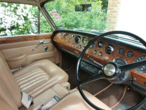 Wedding cars surrey bentley t1 interior view 1